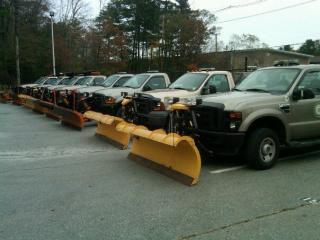 Fleet of Plow Trucks