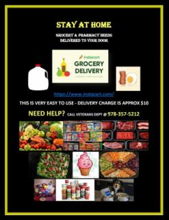 GROCERY AND PHARMACY NEEDS DELIVERED HOME