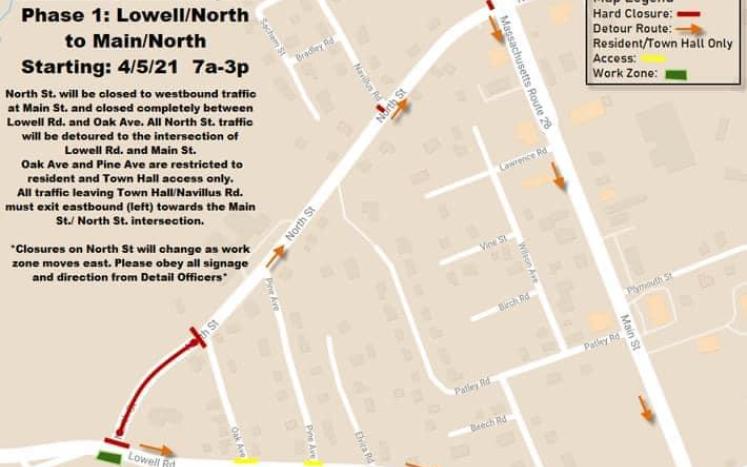North Street / Lowell Road
